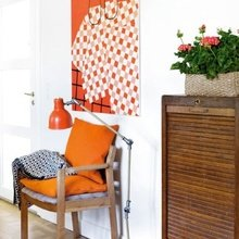 Фотография: Декор в стиле Кантри, Скандинавский, Современный, Декор интерьера, Дизайн интерьера, Цвет в интерьере, Оранжевый – фото на InMyRoom.ru