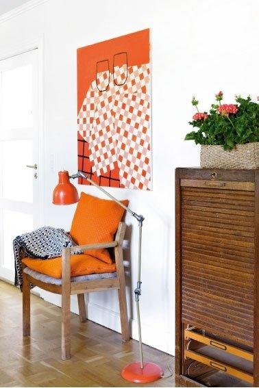 Фотография: Декор в стиле Прованс и Кантри, Скандинавский, Современный, Декор интерьера, Дизайн интерьера, Цвет в интерьере, Оранжевый – фото на InMyRoom.ru