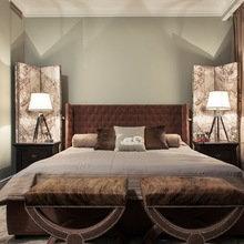 Фотография: Спальня в стиле Современный, Эклектика, Квартира, Дома и квартиры – фото на InMyRoom.ru
