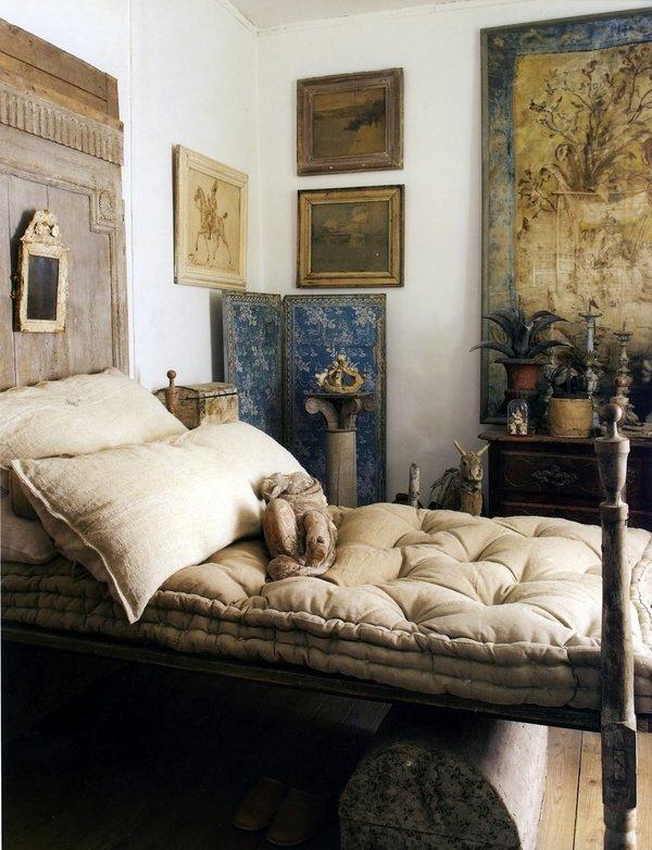 Фотография: Спальня в стиле Прованс и Кантри, Декор интерьера, DIY, Дом – фото на InMyRoom.ru