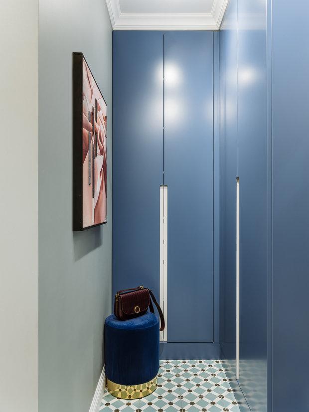 Фотография: Прихожая в стиле Современный, Квартира, Проект недели, Москва, 3 комнаты, 60-90 метров, Анна Зуева – фото на INMYROOM