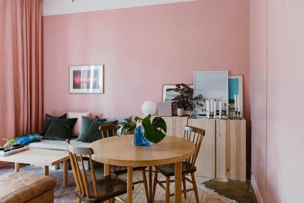 Фотография: Гостиная в стиле Скандинавский, Эко, Малогабаритная квартира, Квартира, Швеция – фото на INMYROOM