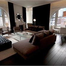 Фотография: Гостиная в стиле Эклектика, Дома и квартиры, Городские места, Отель – фото на InMyRoom.ru