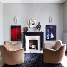 Фотография: Гостиная в стиле Эклектика, Лофт, Декор интерьера, Декор дома, Минимализм – фото на InMyRoom.ru