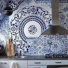 Фотография: Кухня и столовая в стиле Кантри, Современный, Хай-тек – фото на InMyRoom.ru