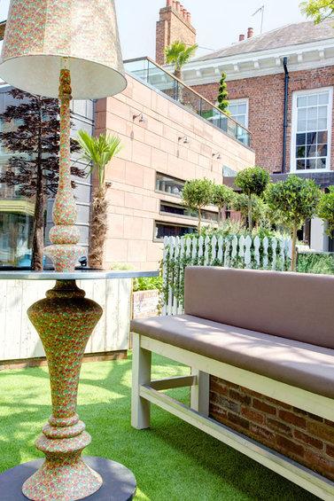 Фотография: Терраса в стиле Лофт, Современный, Дома и квартиры, Городские места, Отель – фото на INMYROOM