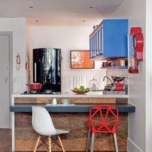 Фотография: Кухня и столовая в стиле Лофт, Декор интерьера, Дом, Дизайн интерьера, Цвет в интерьере – фото на InMyRoom.ru
