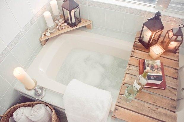 Фотография: Ванная в стиле Прованс и Кантри, Современный, Декор интерьера, Интерьер комнат – фото на InMyRoom.ru
