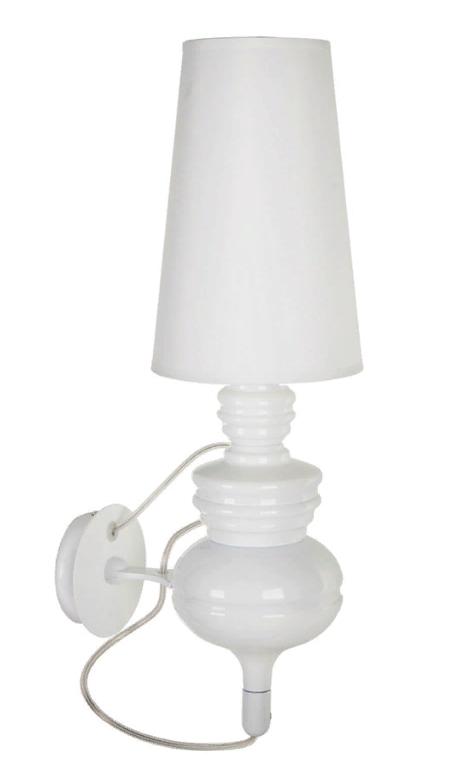 Купить Дизайнерский настенный светильник-бра Josephine White Crystal Light, inmyroom, Китай
