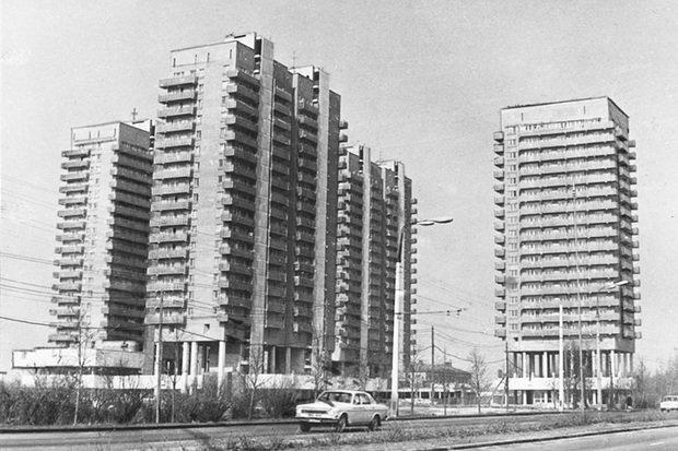 Фотография:  в стиле , Архитектура, Москва, Гид, Панельный дом – фото на InMyRoom.ru