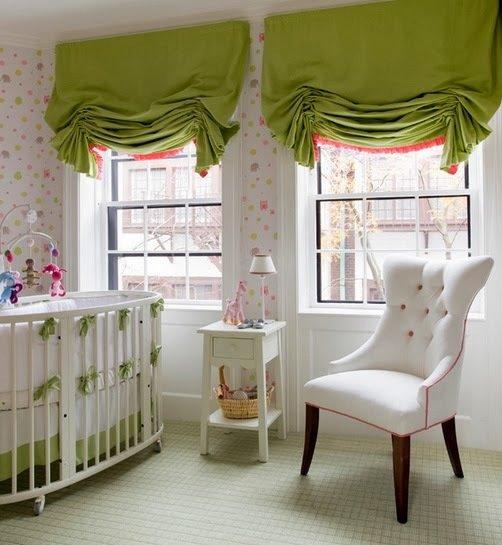 Фотография: Детская в стиле Прованс и Кантри, Декор интерьера, Текстиль, Шторы – фото на InMyRoom.ru