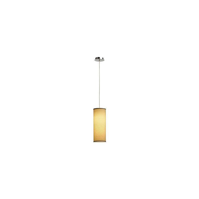 Светильник подвесной SLV Soprana PD3 хром/ бежевый
