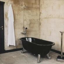 Фотография: Ванная в стиле Лофт, Декор интерьера, Декор дома, Стены – фото на InMyRoom.ru