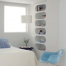 Фотография: Спальня в стиле Современный, Планировки, Индустрия, События, Ремонт на практике – фото на InMyRoom.ru