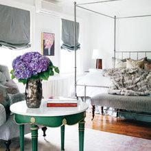 Фотография: Спальня в стиле Современный, Декор интерьера, Интерьер комнат, Ретро – фото на InMyRoom.ru
