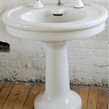 Фотография: Ванная в стиле Кантри, Классический, Лофт, Современный – фото на InMyRoom.ru