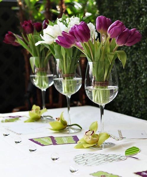Фотография: Флористика в стиле , Декор интерьера, Аксессуары, Стол, Сервировка стола – фото на InMyRoom.ru