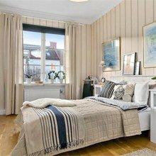 Фотография: Спальня в стиле Скандинавский, Эклектика, Декор интерьера, Квартира, Декор, Мебель и свет, Белый, Бежевый – фото на InMyRoom.ru