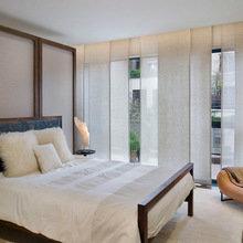 Фотография: Спальня в стиле Скандинавский, Декор интерьера, Текстиль, Шторы – фото на InMyRoom.ru