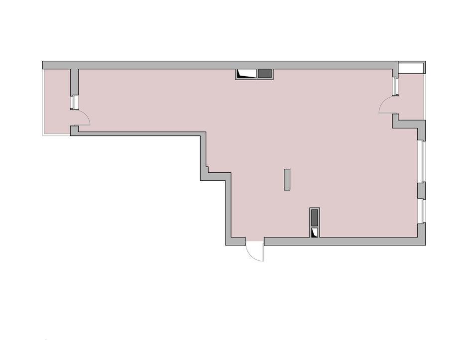 Фотография: Планировки в стиле , Квартира, Цвет в интерьере, Дома и квартиры, Проект недели, Серый – фото на InMyRoom.ru