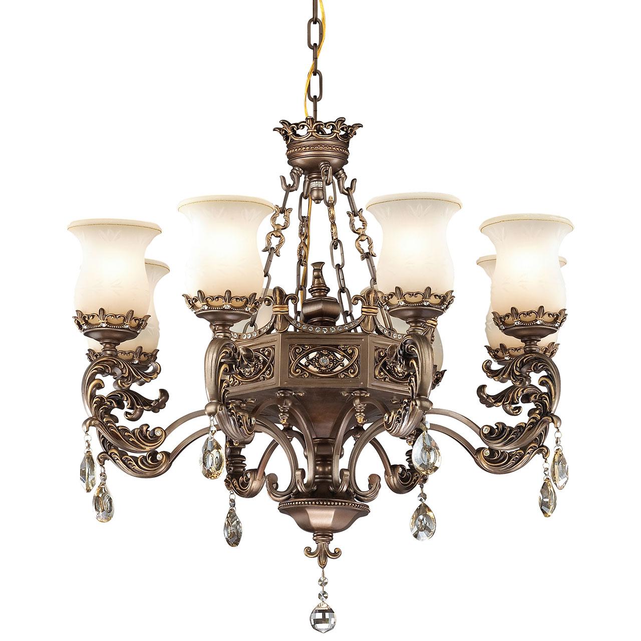 Фото #1: Подвесная люстра Odeon Light Varza  в классическом стиле