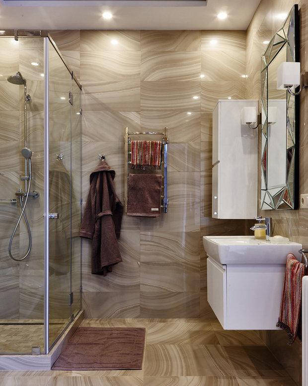 Фотография: Ванная в стиле Современный, Советы, Никита Морозов, Сантехника, KM-Studio – фото на InMyRoom.ru