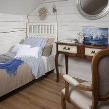 Фотография: Спальня в стиле Кантри, Классический, Дом, Дома и квартиры, IKEA, Проект недели, Дача, Dulux, Zara Home, Интерьерная Лавка – фото на InMyRoom.ru