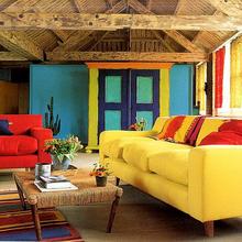 Фотография: Балкон, Терраса в стиле Кантри, Декор интерьера, Дизайн интерьера, Цвет в интерьере – фото на InMyRoom.ru