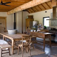 Фотография: Кухня и столовая в стиле Кантри, Декор интерьера, Декор дома, Цвет в интерьере – фото на InMyRoom.ru
