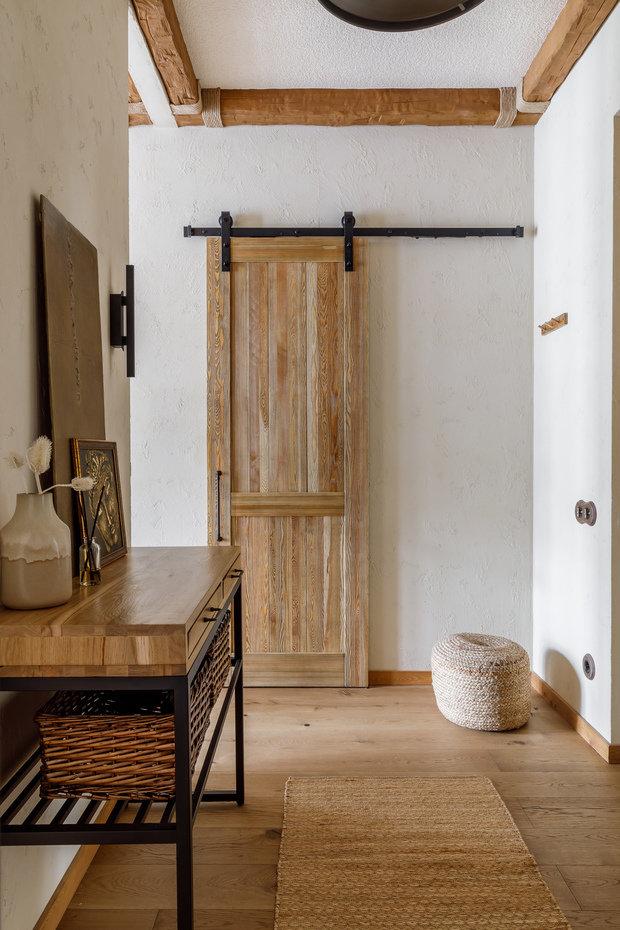 Фотография: Прихожая в стиле Эко, Восточный, Квартира, Проект недели, Москва, 3 комнаты, 60-90 метров, AD-Home – фото на INMYROOM