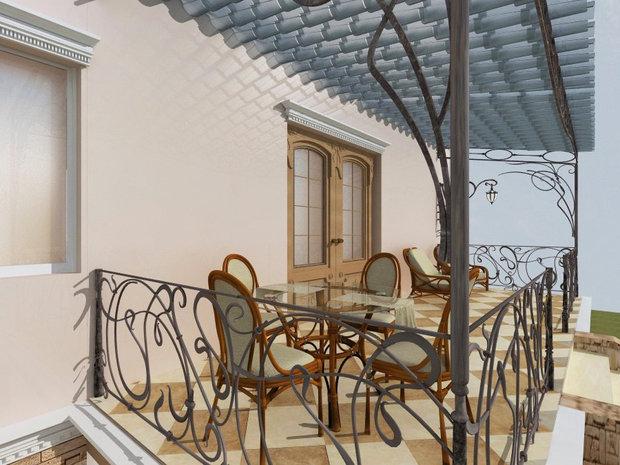 Фото из портфолио Загородный коттедж_модерн – фотографии дизайна интерьеров на INMYROOM
