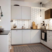 Фото из портфолио Игра контрастов : чёрный, белый, серый – фотографии дизайна интерьеров на INMYROOM