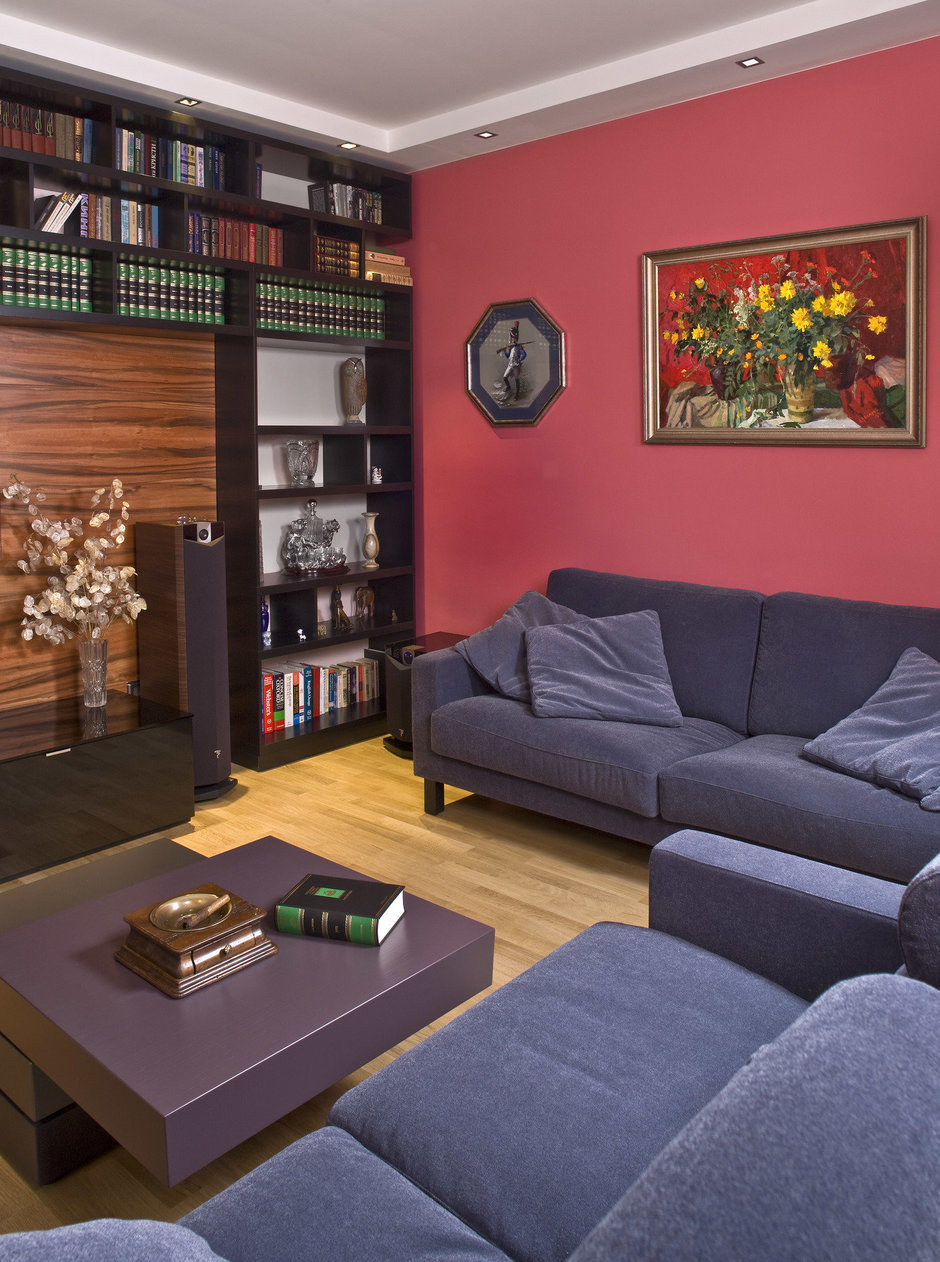 Фотография: Гостиная в стиле Классический, Современный, Квартира, Дома и квартиры, Проект недели – фото на InMyRoom.ru