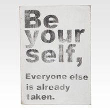 Панно Be yourself