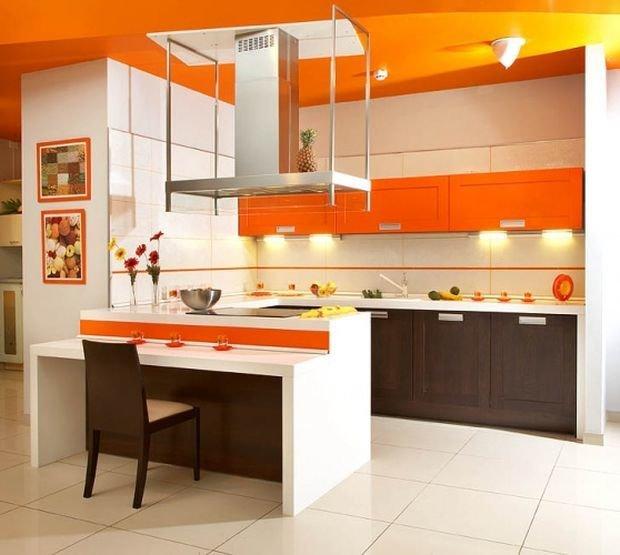 Фотография: Кухня и столовая в стиле Лофт, Декор интерьера, Квартира, Дом, Декор, Оранжевый – фото на InMyRoom.ru
