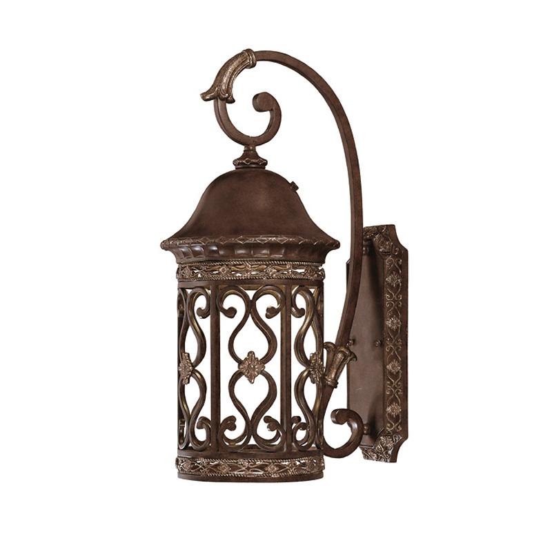 Купить Настенный светильник Grenada Savoy House из кованного металла, inmyroom, Испания