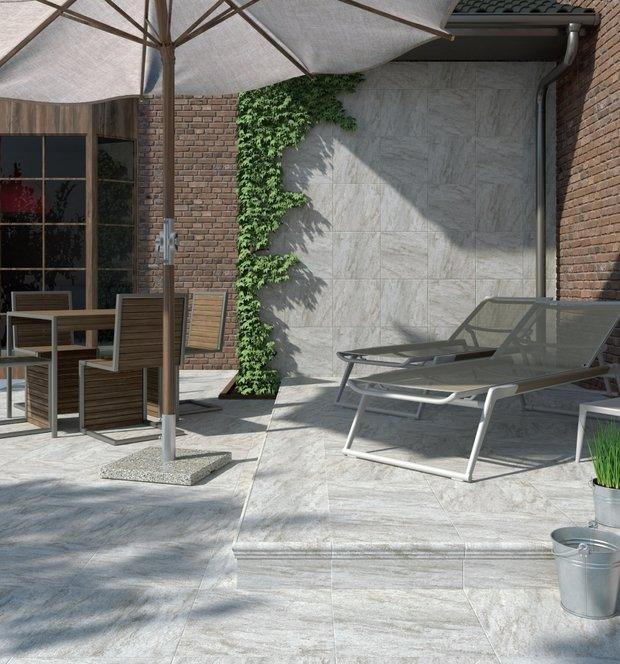 Фотография: Терраса в стиле Современный, Советы, Плитка, Ремонт на практике, Гид, керамическая плитка – фото на InMyRoom.ru