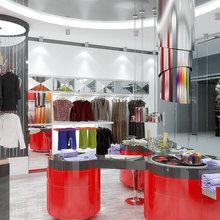 Фото из портфолио Магазин одежды – фотографии дизайна интерьеров на INMYROOM