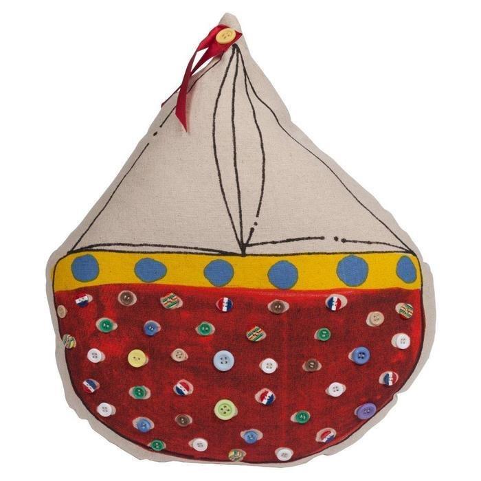 Декоративная подушка Sailboat