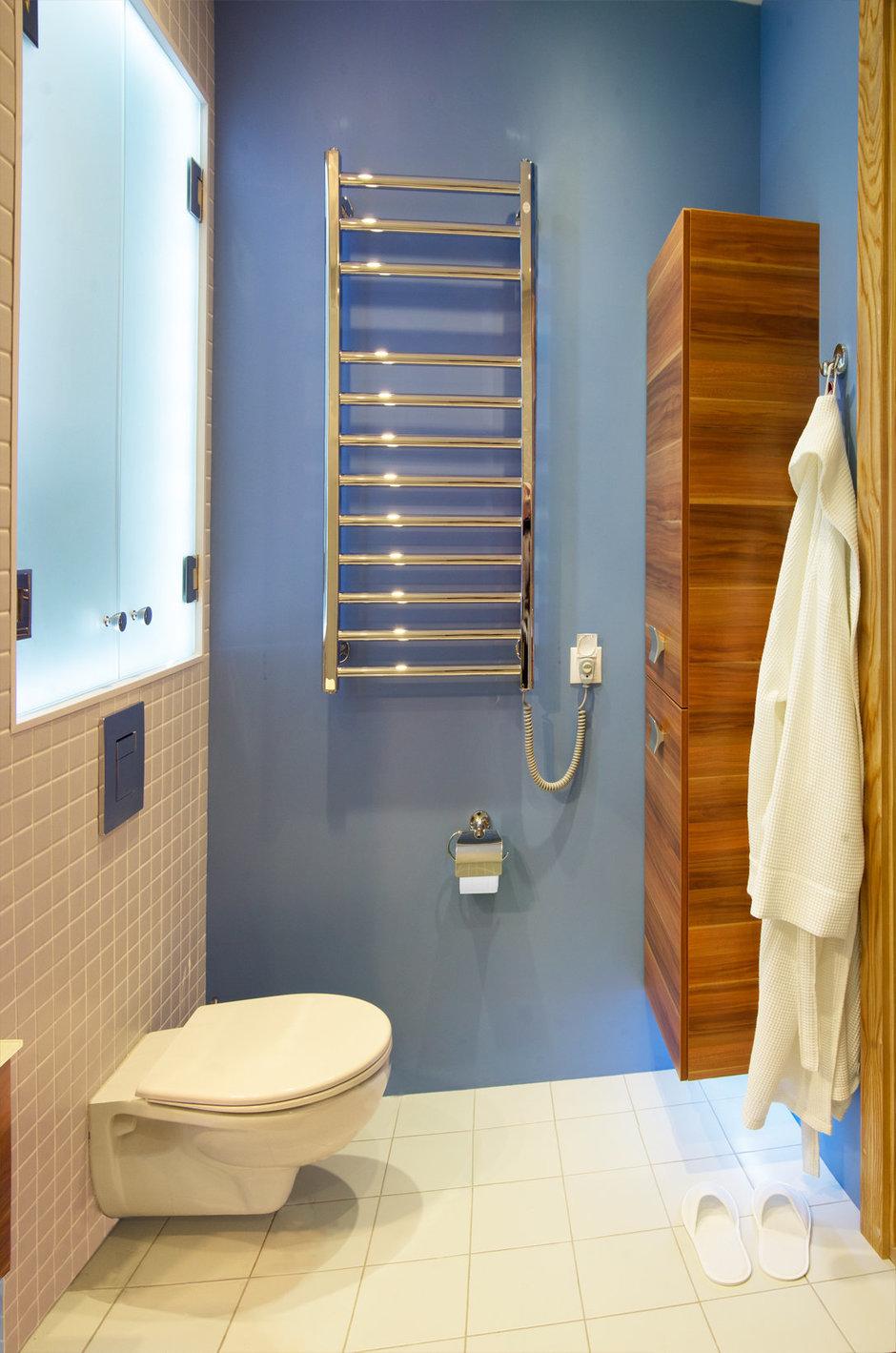 Фотография: Ванная в стиле Современный, Хай-тек, Квартира, Дома и квартиры, Проект недели – фото на InMyRoom.ru