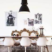 Фотография: Гостиная в стиле Эклектика, Лофт, Декор интерьера, Швеция, Декор дома, Советы, Шебби-шик – фото на InMyRoom.ru