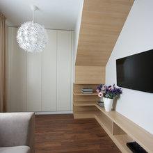 Фотография: Декор в стиле Современный, Дом, Планировки, Мебель и свет, Дома и квартиры, Мансарда – фото на InMyRoom.ru