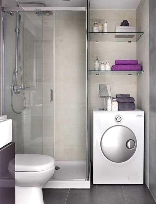 Фотография: Спальня в стиле Современный, Ванная, Интерьер комнат – фото на InMyRoom.ru