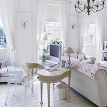 Фотография: Гостиная в стиле , Дом, Дома и квартиры, Шебби-шик – фото на InMyRoom.ru