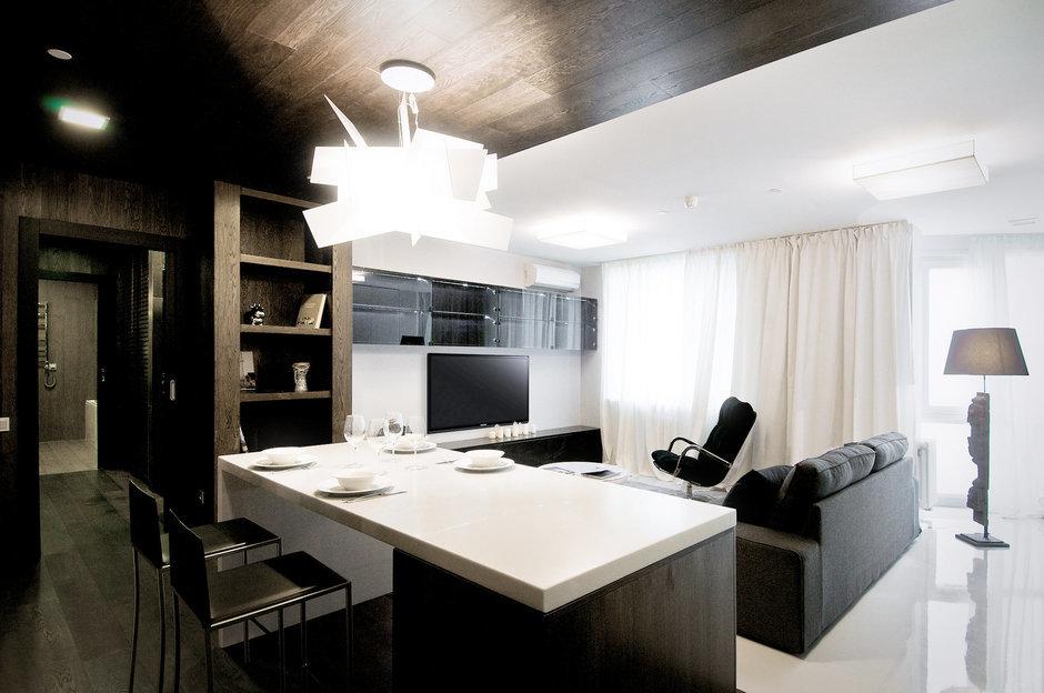 Фотография: Гостиная в стиле Лофт, Современный, Квартира, Дома и квартиры, IKEA, Проект недели – фото на InMyRoom.ru