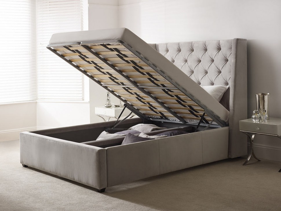 Кровать Carlyle с высоким изголовьем 160х200 inmyroom