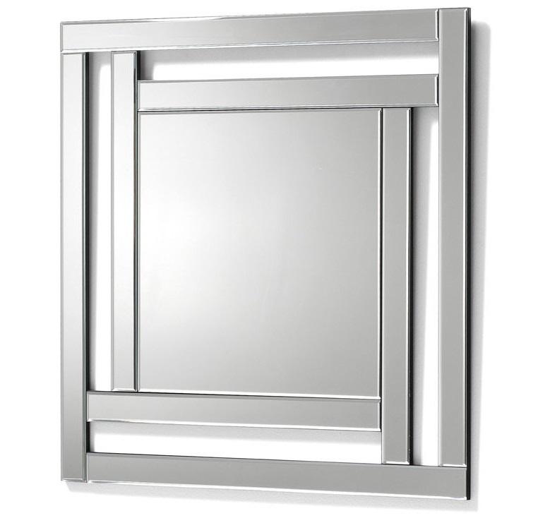 Купить Настенное зеркало Julia Grup Erye квадратной формы, inmyroom, Испания