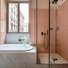 Фотография: Ванная в стиле Скандинавский, Декор интерьера, Декор, Розовый – фото на InMyRoom.ru