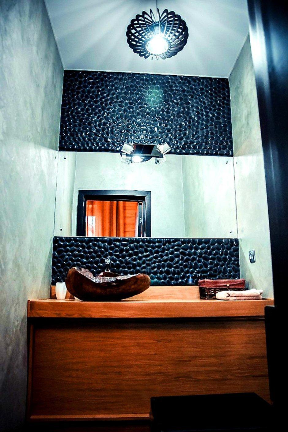 Фотография: Ванная в стиле Лофт, Дом, Дома и квартиры, Шале – фото на InMyRoom.ru