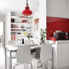 Фотография: Кухня и столовая в стиле Скандинавский, Современный – фото на InMyRoom.ru